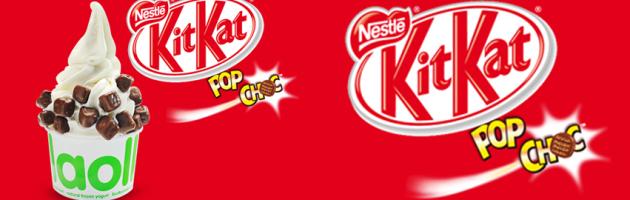 Que cruja el mundo con el nuevo topping Kit Kat® Pop Choc.