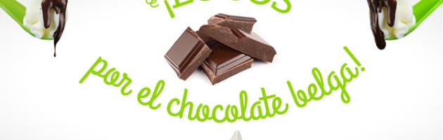 Haz crujir tu llaollao con auténtico chocolate belga.
