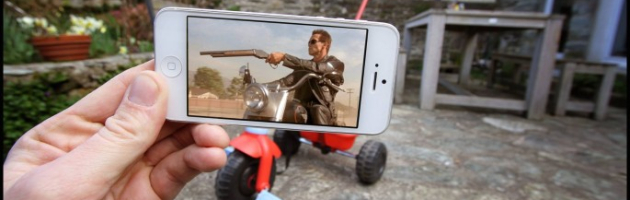 10 escenas del cine recreadas con el móvil de François Dourlen.