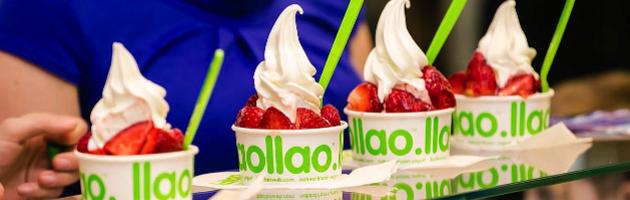 Tu yogur helado llaollao cumple 5 añitos.