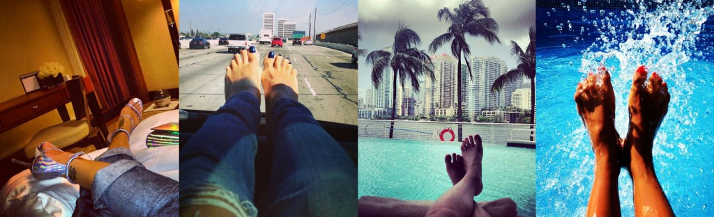 pies de famosas