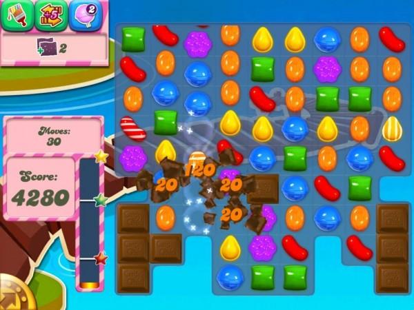 pantallazo candy crush saga