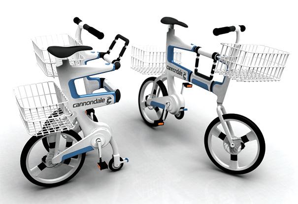Bicicleta carrito de la compra