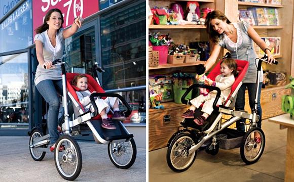 Bicicleta carrito de niño