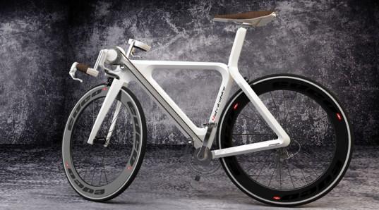 Bicicleta con pedales en las manos