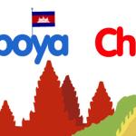 A lomos de un dragón, llaollao vuela hasta China y Camboya.