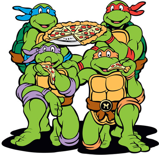 tortugas ninja pizza